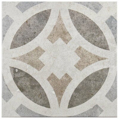 Ardisana 13.13 x 13.13 Ceramic Field Tile in Gray/Brown