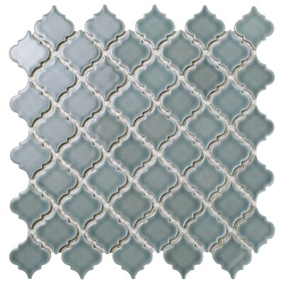Pharsalia 2 x 2.25 Porcelain Mosaic Tile in Gray