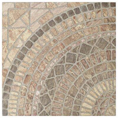 Tierra 17.75 x 17.75 Ceramic Field Tile in Beige/Brown