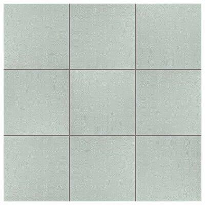 Huit 7.88 x 7.88 Ceramic Field Tile in Blanco