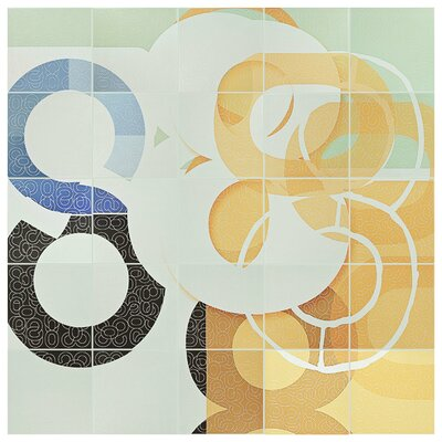 Huit 7.88 x 7.88 Ceramic Field Tile in Puzzle