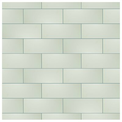 Graphique 6 x 15.75 Ceramic Field Tile in Blanco