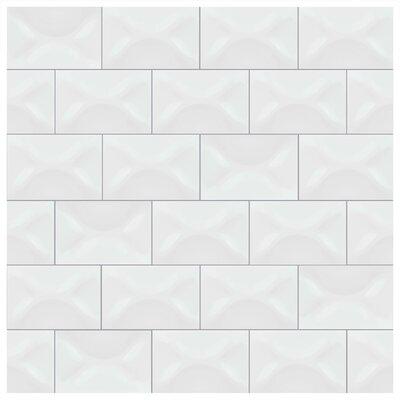 Frena 4 x 6 Ceramic Field Tile in Blanco