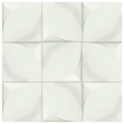 Scania 6 x 6 Ceramic Field Tile in Blanco