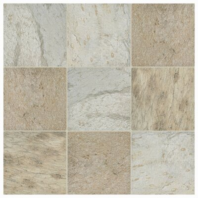 Trevino 11.5 x 11.5 Porcelain Field Tile in Beige