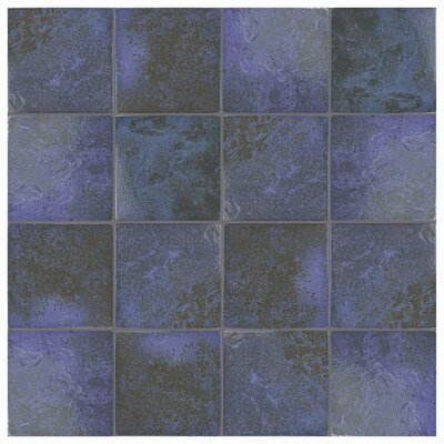 Luis 6 x 6 Porcelain Field Tile in Blue Laguna