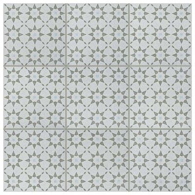 Parma Aventino 11.5 x 11.5 Porcelain Field Tile in Humo