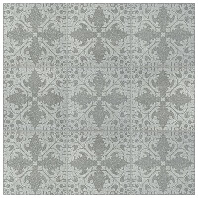Parma Molise 11.5 x 11.5 Porcelain Field Tile in Grafito