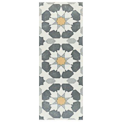 Reine 5.88 x 15.75 Ceramic Field Tile in Gray
