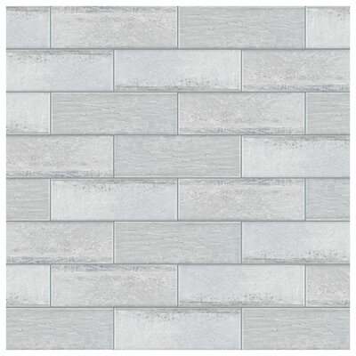 Aetolia 4 x 12.13 Porcelain Field Tile in Gray