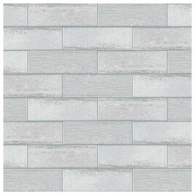 Aetolia 4 x 12.13 Porcelain Field Tile in Gray