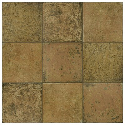 Obila 12.5 x 12.5 Ceramic Field Tile in Brown