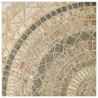 Tierra 17.75 x 17.75 Ceramic Field Tile in Beige/Brown