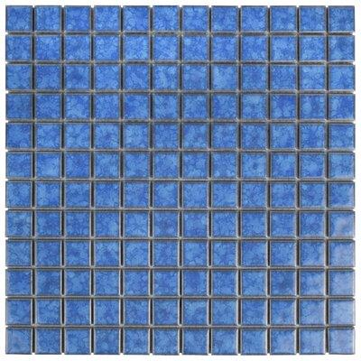 Pool 1 x 1 Porcelain Mosaic Tile in Aral