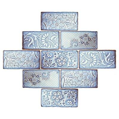 Antiqua 3 x 6 Ceramic Subway Tile in Feelings Via Lactea