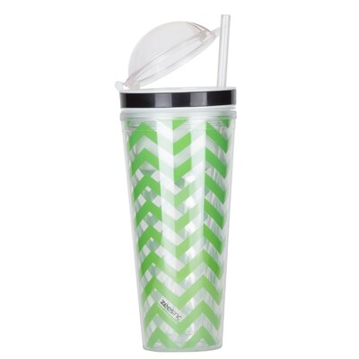 Bottrell Slurp N' Snack 16 oz. Tumbler Color: Lime Green A3ADB1026E0B4C869D3A5C1B89E8E5DA