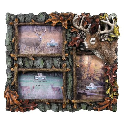 3 Deer Picture Frame 525