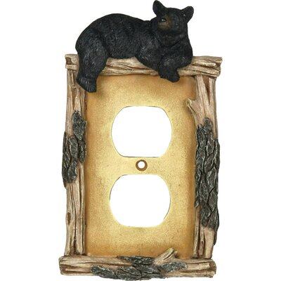 Bear Receptical Card Cover Socket Plate