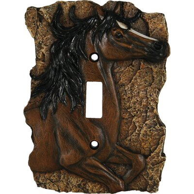 Horse Single Switch Plate Cover