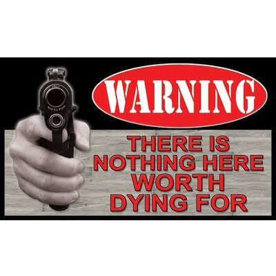 Nothing Worth Dying Doormat