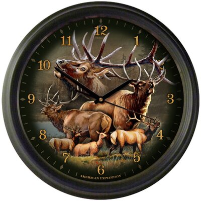 "Elk Collage 16"" Wall Clock WCLK-304"