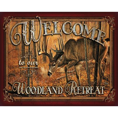 Welcome Deer Doormat
