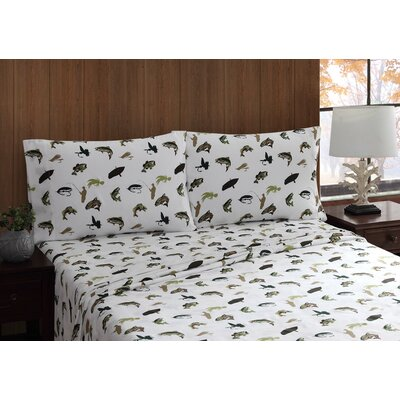 Fly Fishing Sheet Set Size: King