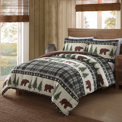 Boucher Woods Comforter Set Size: Full/Queen