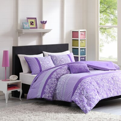 Riley Reversible Comforter Set Size: Twin / Twin XL