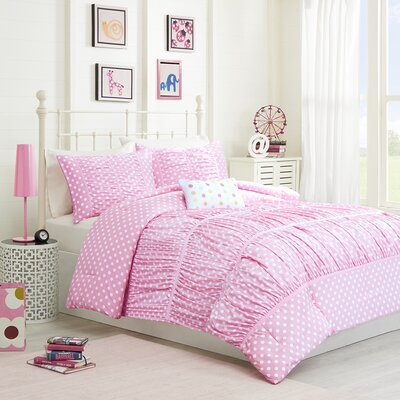 Lia Comforter Set Size: Full / Queen