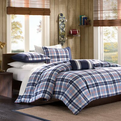 Elliot Duvet Cover Set Size: Full / Queen