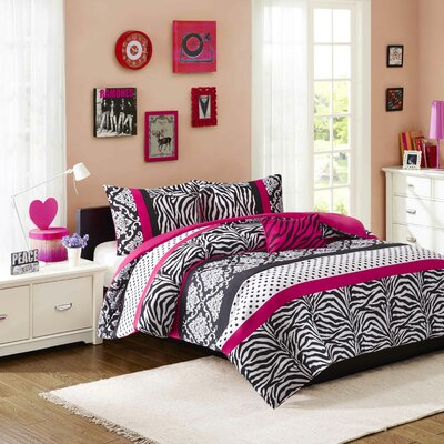 Aldo Duvet Cover Set Size: Full/Queen