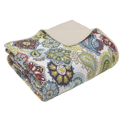 Aguirre Quilted Cotton Throw Blanket