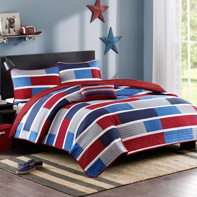Bradley Quilt Set Size: Full / Queen