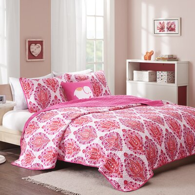 Audra Coverlet Set Size: Full/Queen
