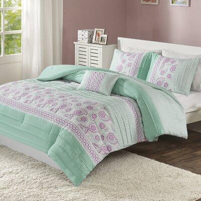 Suzette Reversible Comforter Set Size: Twin/Twin XL