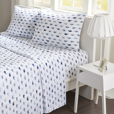 Whales Sheet Set Size: Queen