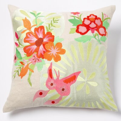 Joy Linen Throw Pillow