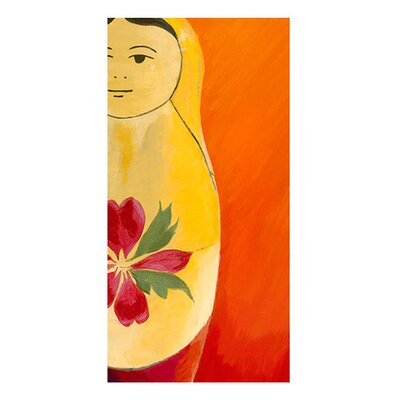 Matryoshka Half face Giclee Painting Print on Canvas Size: 6