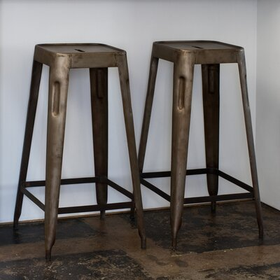 Credit for Steel Stacking Barstool in Natural ...