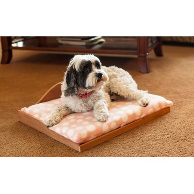 Cedar Pet Bed Color: Pink