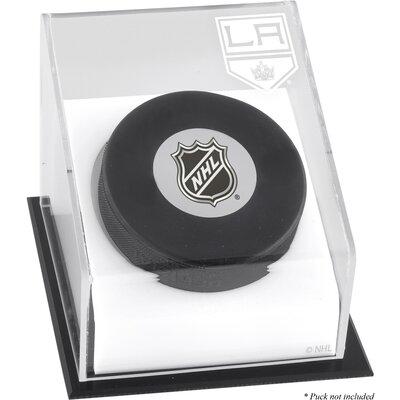 Hockey Puck Logo Display Case NHL Team: Los Angeles Kings DISPHKKING