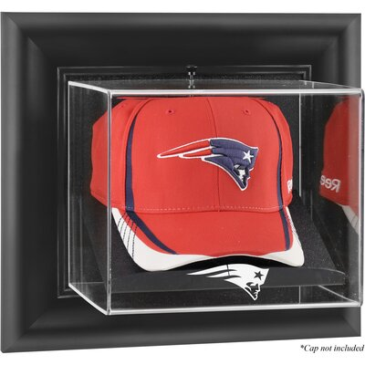 NFL Wall Mounted Cap Logo Display Case NFL Team: New England Patriots DISPUDPATR