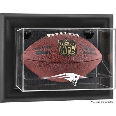 NFL Wall Mounted Football Logo Display Case NFL Team: New England Patriots DISPUFPATR