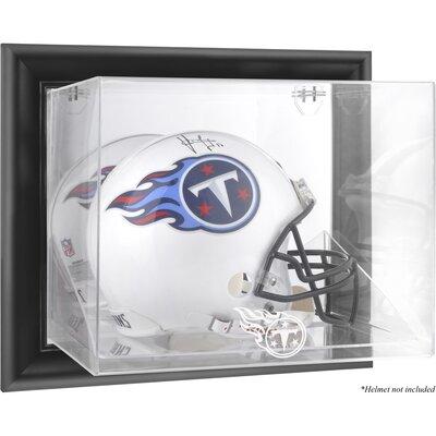 NFL Wall Mounted Helmet Logo Display Case NFL Team: Tennessee Titans DISPUHTITA