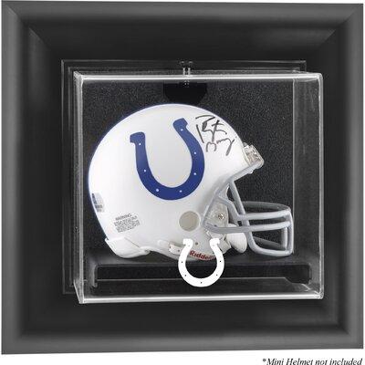 NFL Wall Mounted Mini Helmet Logo Display Case NFL Team: Indianapolis Colts DISPUMCOLT