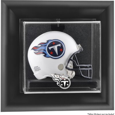 NFL Wall Mounted Mini Helmet Logo Display Case NFL Team: Tennessee Titans DISPUMTITA