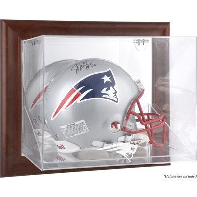 NFL Wall Mounted Logo Helmet Case NFL Team: New England Patriots DISPVHPATR