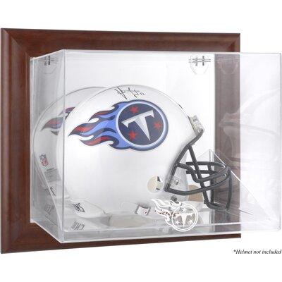 NFL Wall Mounted Logo Helmet Case NFL Team: Tennessee Titans DISPVHTITA