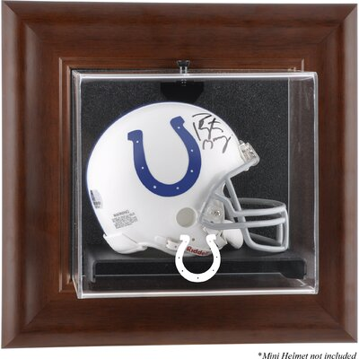 NFL Wall Mounted Logo Mini Helmet Case NFL Team: Indianapolis Colts DISPVMCOLT